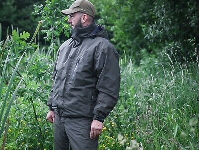 Avid Rip Stop Thermal Suit *All Sizes* NEW Carp Fishing Two Piece Suit • 124.99£