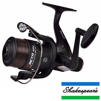 Shakespeare Beta Series Front / Rear Drag Spinning Fishing Reels Game / Coarse • 14.99£