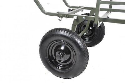 Prestige Carp Porter NEW Model MK2 Triporter Barrow Rear Wheels • 59.99£