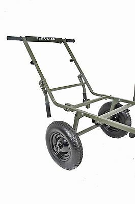 Prestige Carp Porter NEW Deluxe Triporter Barrow Wheels & Handle Kit System • 99.99£