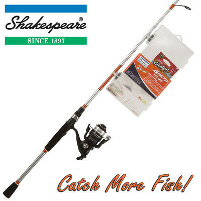 Shakespeare 7ft LRF Kit, Fishing Rod, Reel & Tackle Box Combo 'Catch More Fish'  • 39.99£