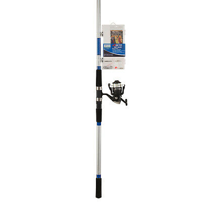Shakespeare 12ft Surf Kit Sea Fishing Rod, Reel & Tackle Box 'Catch More Fish'  • 44.99£