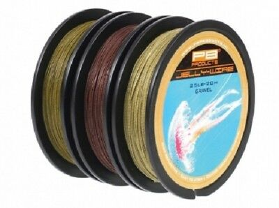 PB Products Jelly Wire *Full Range* NEW Carp Fishing Coated Braid Hooklink • 13.99£