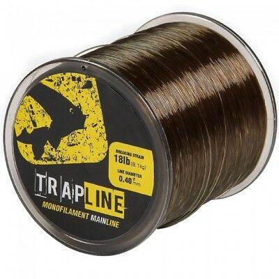 Avid Carp Trap Line *All Breaking Strains* NEW Carp Fishing Mono Line 1000m • 11.99£