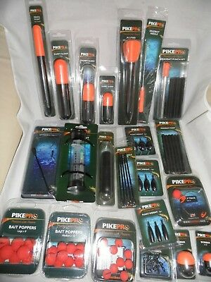 Baitbox Pike Pro Pike Accessories-Poppers, Traces, Floats, Weights Etc Available • 7.50£