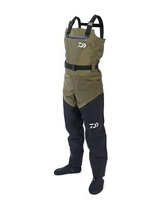 Daiwa Hybrid 4 Stretch Chest Waders *All Sizes* NEW Fishing Breathable Waders • 119.99£