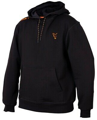 Fox Collection Black And Orange Hoody NEW Fishing Hoodie *All Sizes* • 34.99£
