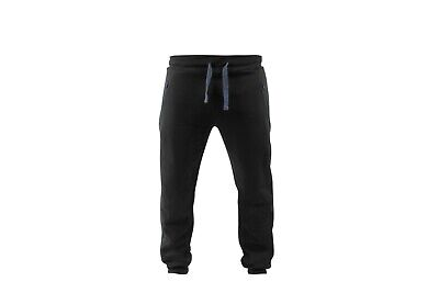 Preston Black Joggers *All Sizes* NEW Coarse Fishing Jogging Bottoms • 29.99£