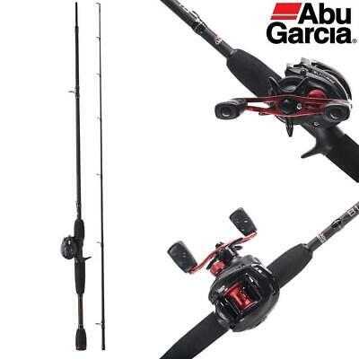 ABU GARCIA BLACK MAX BAITCAST COMBO ROD & REEL- 6ft 6  -  1376703 • 89.99£