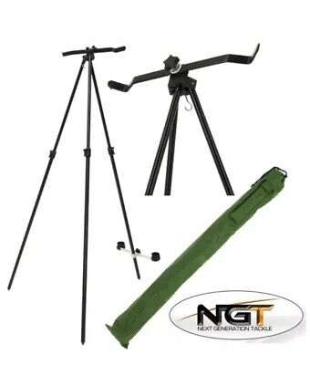 NGT 2 Rod Adjustable Beach Master Sea Fishing Tripod • 19.95£