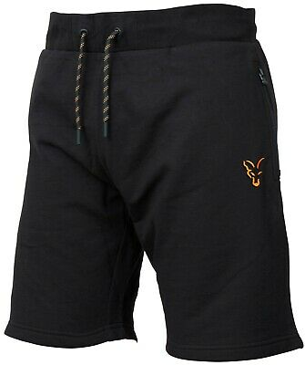 Fox Collection Black And Orange Lightweight Shorts *All Sizes* NEW • 15.99£