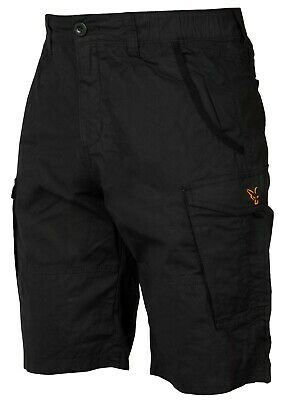 Fox Collection Shorts Black And Orange *All Sizes* Fishing Clothing NEW • 24.99£