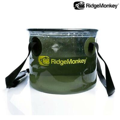 Ridgemonkey Perspective Collapsible Water Bucket 10l - Carp Fishing • 12.89£