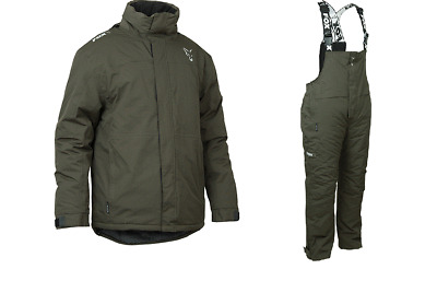 Fox Green & Silver Carp Winter Suit Size Large • 159.49£