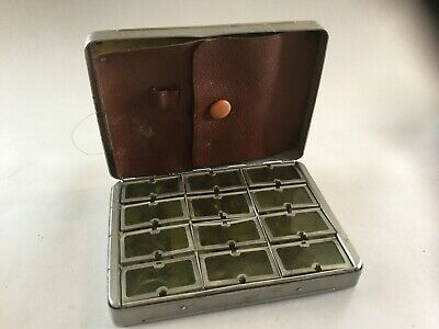 Vintage Allcock Aluminium Fly Box With  Flies • 50£
