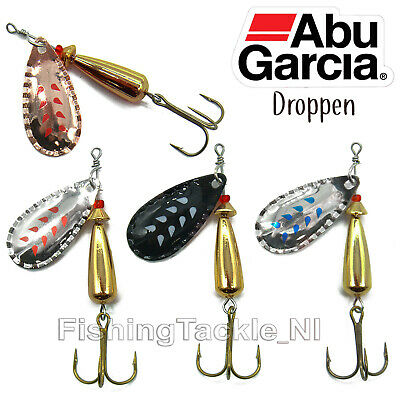 Abu Garcia Droppen Spinner Lure Trout Fishing 8g - 12g All Colours Freshwater • 3.95£