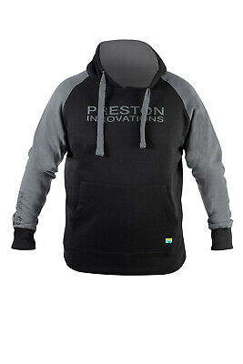 Preston Black Pullover Hoody *All Sizes Available* Fishing Hoodie NEW • 29.99£