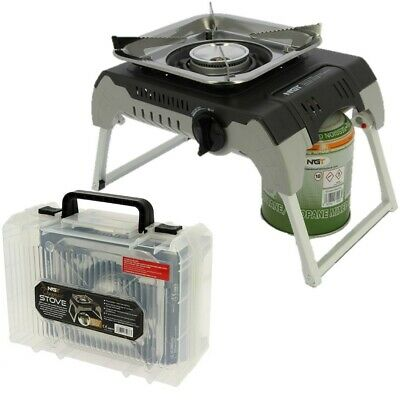 Ngt Dynamic Carp Coarse Fishing Gas Stove Folding With Case Cooker Bbq • 49.95£