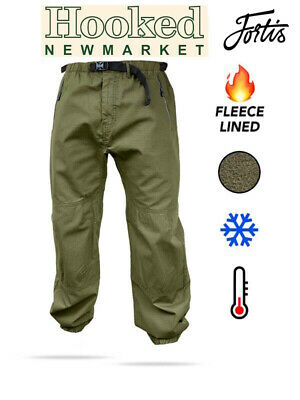 Fortis Elements Lined Carp Fishing Trail Pants - All Sizes **New For 2020** • 64.99£