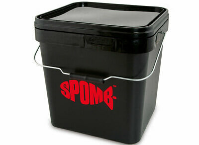 Fox Spomb 17L Square Bucket NEW Carp Fishing Bucket - DBT001 • 12.99£