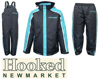 Drennan Quilted Thermal Waterproof Clothing Range **New For 2020** **All Sizes** • 169£
