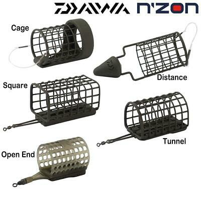 Daiwa N'zon Cage Feeders - New Nzon - Coarse Fishing Cage - Choose Cage & Weight • 3.50£