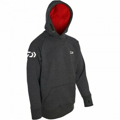 Daiwa Match Hoodies Grey / Red SIZE LARGE  MH-GR-L  RRP£59.99 • 27.99£