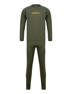 Navitas Thermal Base Layer 2 Piece Suit *Small To 3xl* NEW Carp Fishing Thermals • 24.99£