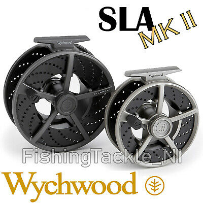 Wychwood SLA MKII - Large Arbor Cassette Fly Fishing Reel With 2 Spare Spools • 69.95£