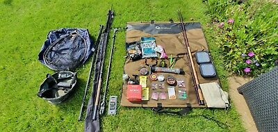 Coarse Fishing Equipment Tackle, Rods, Floats, Hooks Etc • 120£