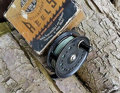 J W Young & Sons, Condex Fly Reel. Good Condition, With Box. • 22£