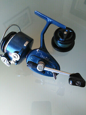 VINTAGE MITCHELL MATCH 440A Fishing Reel And Spare Spool Auto Bail • 33£