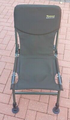 Wychwood Signature Chair Fishing Chair Adjustable Legs, Excellent, Bargain  • 18£