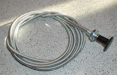 Universal Stiff / Solid Wire  Choke Cable Classic Cars • 9.50£
