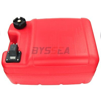 24L Portable Fuel Tank For Yamaha Outboard Marine Gas Tank With Connector &Guage • 46.99£