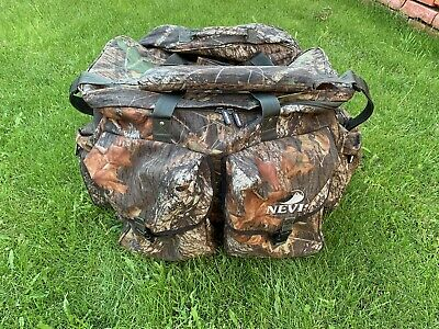 NEVIS Mossy Oak Camouflaged XL Fishing Tackle Holdall & Detachable Wet Bag 🎣 • 18£
