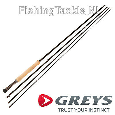 Greys GR40 Fly Fishing Rods - Medium Fast 4 Piece Trout Fly Rods • 124.99£