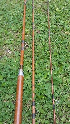 Vintage Split Cane Fishing Rod Used Condition • 10£