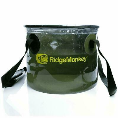 RidgeMonkey 15L Perspective Collapsible Water Bucket 50/50 • 12.99£