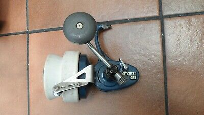 Vintage Mitchell 498 Fixed Spool Reel With Very Rare Bobinyl Distance Spool • 175£