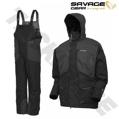 Savage Gear New Heatlite Thermo Suit - All Sizes - Coarse Carp Fishing  • 145£