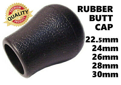 KOIKE BUTT CAPS FOR RODS (RUBBER) TOP QUALITY 22.5mm - 30mm • 3.45£