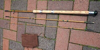 Small Stream Rod. 8ft 3in Split Cane Rod. Excellent Condition. Gudgeon Rod. • 110£