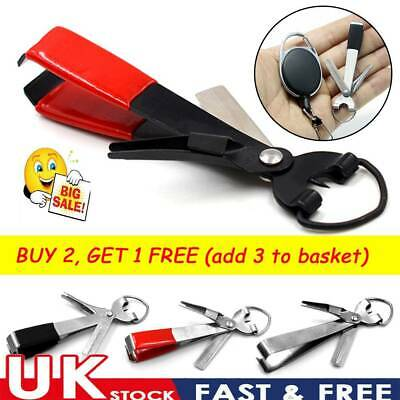 Portable Stainless Steel Quick Knot Tying Tool Line Cutter Hook Fish Nippers~ • 3.65£