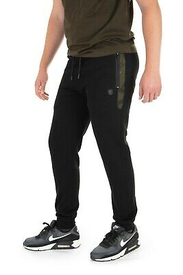 Fox Black / Camo Jogger *All Sizes* NEW Fishing Jogging Bottoms • 32.99£