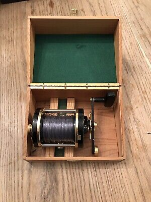 Abu Ambassadeur 10000 Cdl In Wooden Box Used With Marks Swedish Deluxe Reel • 495£