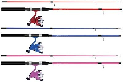 Dennett Cosmic 6ft Spin Combo Fishing Kit Rod Reel + Line Spinning Kids Children • 24.99£