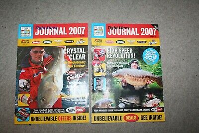 Tight Lines Pure Fishing ABU Garcia Etc Journal 2007 Edition 1 And 2  • 7£