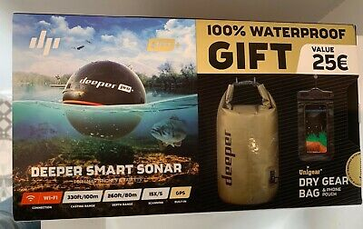 Deeper Smart Sonar Pro Waterproof Gear Bundle • 175£