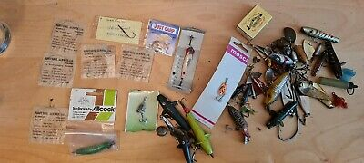 Job Lot / Joblot Vintage Spinning  Spinners, Minnows & Fishing Lures / Baits  • 22£
